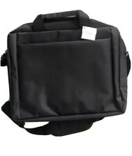 "Padded Laptop Computer Shoulder  Messenger Bag Black 16"" X 12"" X 3"" New"