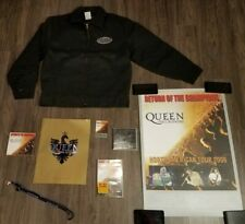 2006 Queen Jacket, Dvd, Cds, Laminate, Program, Limited Edition Poster, Lanyard