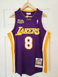 100% Authentic Mitchell and Ness Kobe Bryant Los Angeles Lakers 2000-01 Jersey