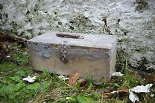 The real dybbuk BOX -  DO NOT OPEN red wax seal on top