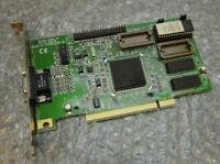 Genuine ATi 3D RAGE VGA PCI Graphics Video Card MACH64 / 109-34000-00