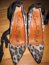 Lanvin for H&M Leopard Print Crystal Rhinestone Pumps Size 8 US, 39 EUR