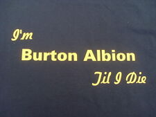 Burton Albion T-Shirt Inc 4XL & 5XL Personalised Birthday Christmas Gift