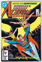 ACTION COMICS #588, VF, Superman, HawkMan, John Byrne, 1938, HawkGirl