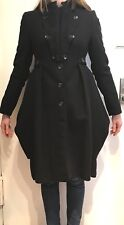 ALEXANDER MCQUEEN  WOMENS CAVALRY MILITARY WOOL CASHMERE TAIL COAT 40 / 4-6