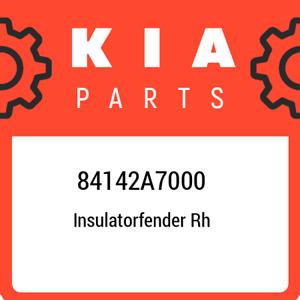 84142A7000 Kia Insulatorfender rh 84142A7000, New Genuine OEM Part