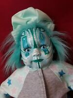 Sinisterly Sissy's 'Xarissa' Undead,Spooky,Creepy,Haunted,Gothic,Clown,19 inch