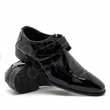 New Mens Black Patent Italian Style Shoes Formal Wedding Party Dress Office 6-11