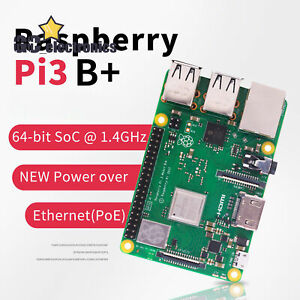 Raspberry Pi 3 Model B Plus 1.4GHz Quad Core 64Bit 1GB RAM (2018 Model) A3GU