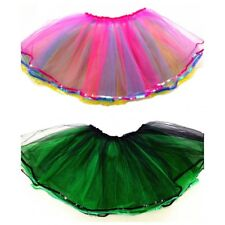Para Mujer Adulto Dancewear Tutu Ballet Pettiskirt Princesa Fiesta Falda Talla