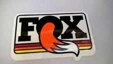 Vintage Fox racing Fox shox Motorcycle MX BMX racing off road Decal/Sticker