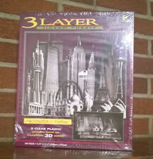 ARCHITECTURAL FANTASY 3 Layer Jigsaw PUZZLE SKYLINES New 540 pieces