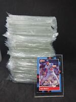 (Lot of 50) New Sealed Superstar Snap Down Single Card Holder 3 X 4 1/4 Clear
