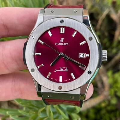 Hublot Classic Fusion 'Qatar' Edition - Limited to 50 pieces