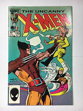 X-men #195 F+ Marvel comic 1985 Wolverine