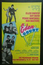 "Eden Court Theater Broadway Window Card Poster 14"" x 22"""