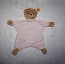 Fahne Puppen Steiff 204241 Kissenpüppchen Knöpfchen  14 cm  unbespielt u
