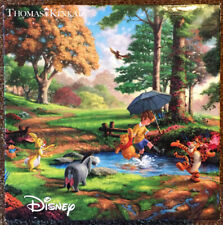 Thomas Kinkade Winnie the Pooh 750 Piece Puzzle Ceaco Gently Used + Complete