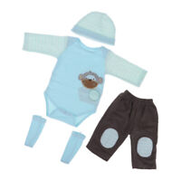 50-57cm Reborn Boy Dolls Clothes Set Baby Doll Clothing Newborn Baby Dolls