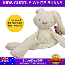 40CM Cute & Cuddly White Bunny Teddy Kids Rabbit Soft Plush Baby Toy Doll Gift