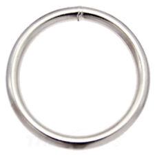 10 St. Rundringe 20mm x 3,0mm Stahl vernickelt O-Ringe Rundring O Ring O-Ring