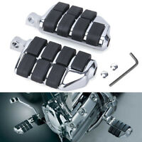 Highway Foot Pegs Rest Pedals For Harley Touring Electra Glide Road King Softail