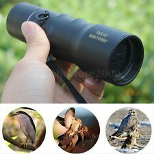16X40 Adjustable Monocular Spotter Optical Watch Travel Camping Focus Telescope