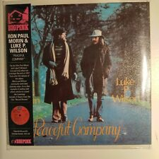 "Ron Paul Morin & Luke P. Wilson  ""Peaceful Company""   MINI LP CD Limited Edition"