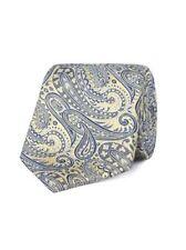Jeff Banks London Gold Paisley Tie