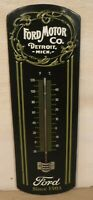 New Ford motor Co. Detroit Mich. Embossed Metal Thermometer Open Road Brands
