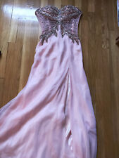 Jovani prom dress Size 2 pale pink, only worn once to prom