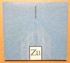 RARE CD ALBUM / ZU - LIVE IN HELSINKI / DIGIPACK SANS CODE BARRE