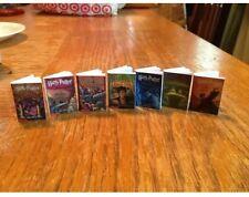 Harry Potter Mini Book Ornaments complete set of 7