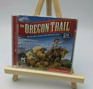 The Oregon Trail Computer Game 5th Edition Windows/Mac The Learning Company 2010
