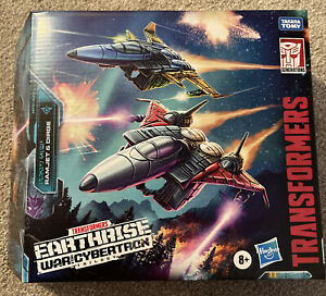 Transformer War For Cybertron Seeker Elite Ramjet & Dirge Earthrise WFC-E27