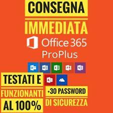 MICROSOFT OFFICE 365/2016/2019✔️Licenza a vita 5 dispositivi✔5TB Cloud✔️+OMAGGIO