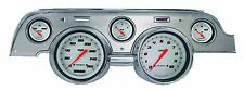 Classic Instruments 67-68 Ford Mustang Gauges Brushed Aluminum Bezel mu67vswba