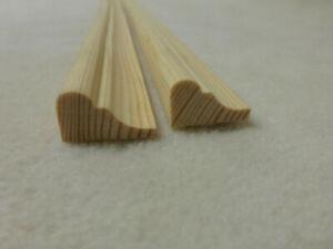 Profilleiste Kiefer 12x20mm Holzleisten Zierleiste Stk 100cm