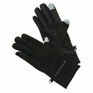 Dare2b Smart II Core Stretch Cycling Running Gloves Black