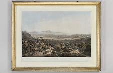 Romansicht, Farblithographie von Eberhard Emminger, um 1851