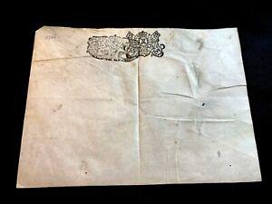1706 BLANK PARCHMENT
