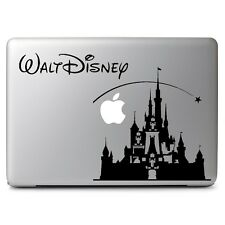 "Disney Castle Decal Sticker Skin for Apple Macbook Air & Pro 11 13 15 17"" Laptop"