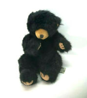Vintage Russ Blacky Plush Bear