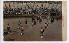 (La8298-100) Matadors, Entering The Ring,  Used, c1906, G-VG