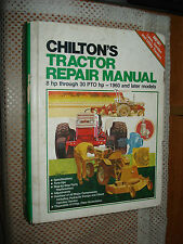 Chiltons Tractor Shop Manual Service Book Repair 1960 & Later Models John Deere+
