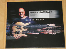 FRANK GAMBALE-RAISON D'ETRE-Billy Cobham-NEUF + neuf dans sa boîte