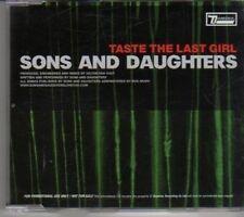 (CL632) Sons & Daughters, Taste The Last Girl - 2005 DJ CD