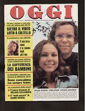 OGGI 52/1975 BONINSEGNA MOLINARI MILVA ZEUDY ARAYA MARILYN MONROE COLLOMBIN