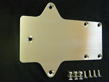 CNC MACHINED ALUMINIUM BATTERY PLATE TRAY MOTO GUZZI PLAIN NO HOLES