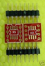 DIP8 Single to SMD Dual OpAmp Adaptor BrownDog